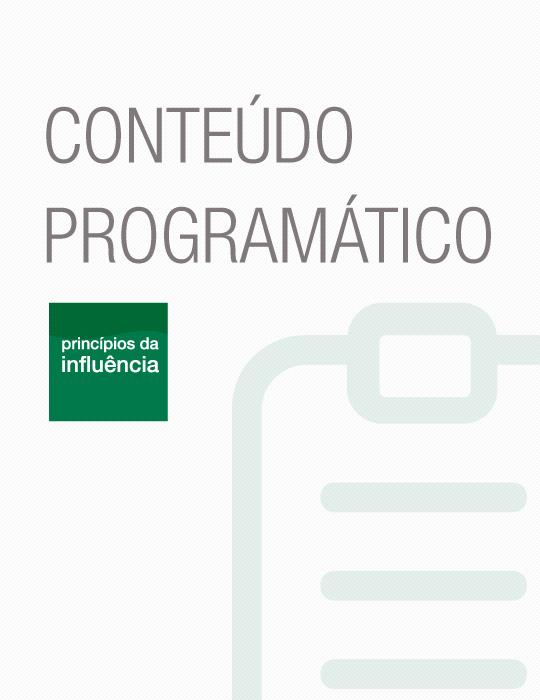 Conteudo Programático Principios da Influencia