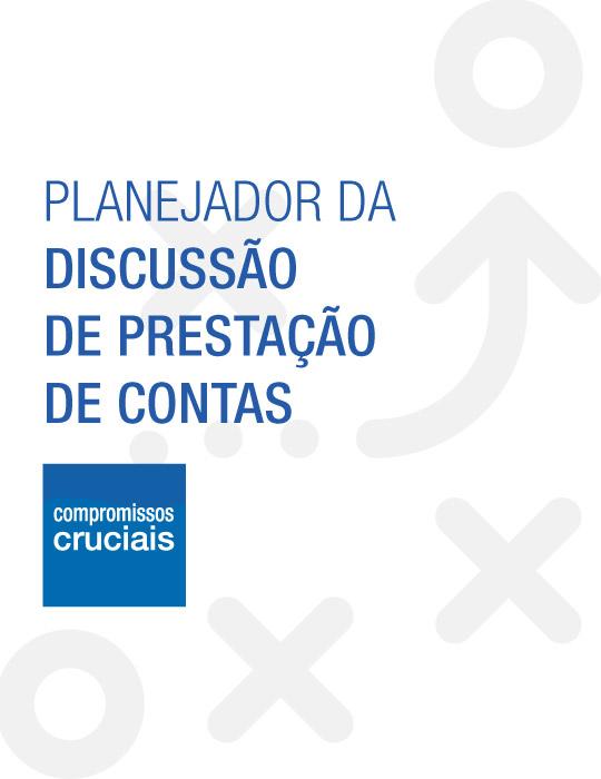 Planejado da Discussão de Prestação de Contas